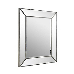 Home Collection - Large rectangular frame wall mirror