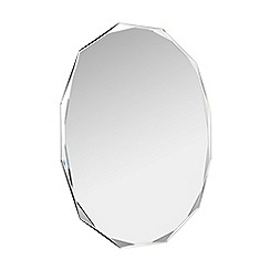 Home Collection - Oval cut wall mirror