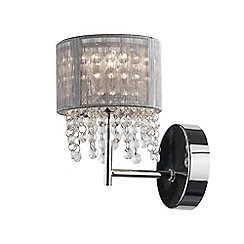 Home Collection - Chrome 'Gloria' wall light