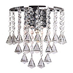 Home Collection - Fiona Crystal Glass Wall Light