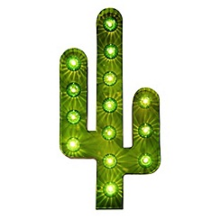 Home Collection - Cactus Marquee Metal Wall Light