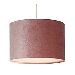 Home Collection - Velvet pink lamp shade
