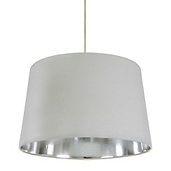Home Collection - Large grey tapered lamp shade