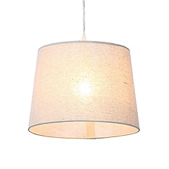 Home Collection - Small cream linen lamp shade