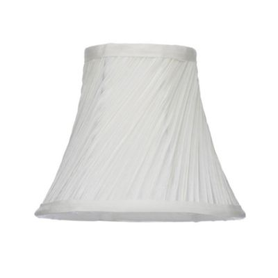 Home collection cream swirl candle lamp shade