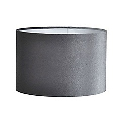 Home Collection - Grey velvet lamp shade
