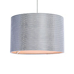 Home Collection - Grey textured lamp shade