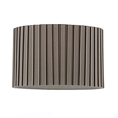 Home Collection - Grey box pleated lamp shade