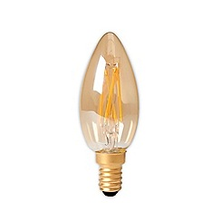 Calex - 3.5W E14 champagne fil candle bulb