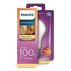 Philips - 13.5W B22 Dimmable LED Bulb