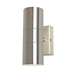 Zinc - Stainless steel up and down wall light