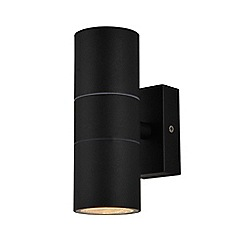 Zinc - Black up and down wall light