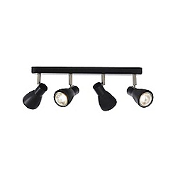 Home Collection - Black  4 light metal spotlight