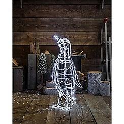 Noma - White LED Penguin