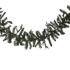 Noma - Green Pre-Lit Festive Fir Garland