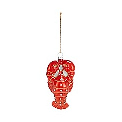 Debenhams - Red Lobster Christmas Tree Decoration