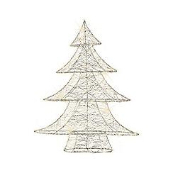 Kaemingk - Silver Christmas LED tree decoration