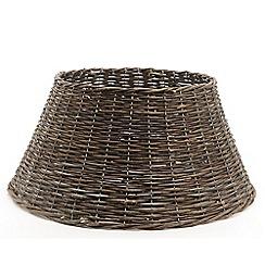 Kaemingk - Brown jute Christmas tree ring skirt