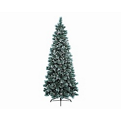 Kaemingk - 5ft Green Frosted Norwich Pine Christmas Tree