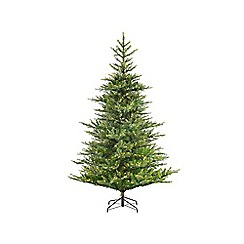 Kaemingk - 7ft Green Frosted Norwich Pine Christmas Tree
