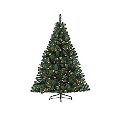 Kaemingk - Green pre-lit 'Imperial' 6ft Christmas tree