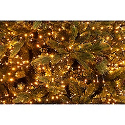 Festive - Yellow 400 LED amber firefly lights