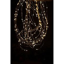Festive - Yellow dewdrop 200 LED amber branch lights