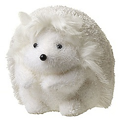 Heaven Sends - White Cute Hedgehog Ornament