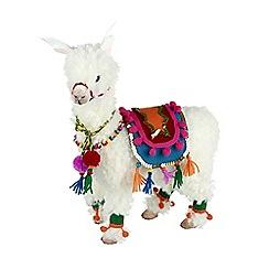 Heaven Sends - Festive Llama Decoration