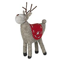 Heaven Sends - Large Standing Reindeer Decoration