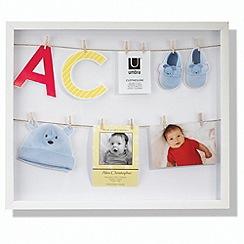 Umbra - Clothesline Photo Display - White