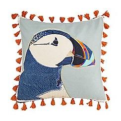 Abigail Ahern/EDITION - Multi-coloured puffin cushion