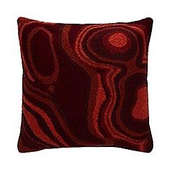Abigail Ahern/EDITION - Multicoloured textured embroidery cushion