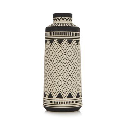 Abigail Ahernedition Dark Grey Vase Debenhams