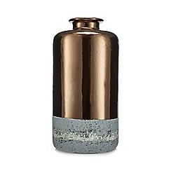 Abigail Ahern/EDITION - Metallic cylindrical vase