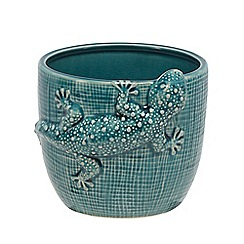 Abigail Ahern/EDITION - Green 'Gecko' designer lizard plant pot