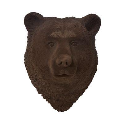 Abigail Ahern Edition Brown Bear Head Wall Art Debenhams