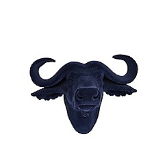 Abigail Ahern/EDITION - Blue 'Bobby the buffalo' head wall art