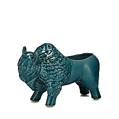 Abigail Ahern/EDITION - Turquoise bison planter