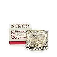 RJR.John Rocha - Silver amber scented candle