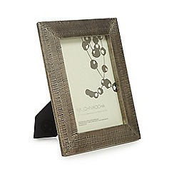 RJR.John Rocha - Bronze hammered photo frame