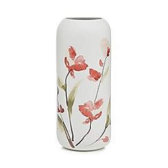 RJR.John Rocha - White floral porcelain vase