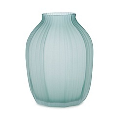 RJR.John Rocha - Green glass vase
