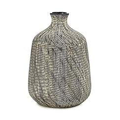 RJR.John Rocha - Brown scratch texture onion vase