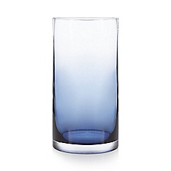 J by Jasper Conran - Blue ombre effect 'Mid Century' candle holder