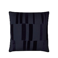 J by Jasper Conran - Dark green block texture cushion