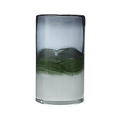 J by Jasper Conran - Green glass art glass vase