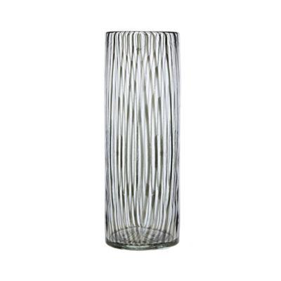 J By Jasper Conran Black Glass Vase Debenhams