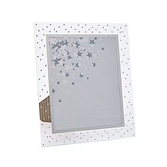 Star by Julien Macdonald - Designer silver glass Swarovski crystal photo frame