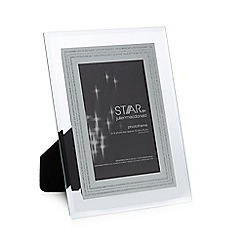 Star by Julien Macdonald - Glass glitter border photo frame